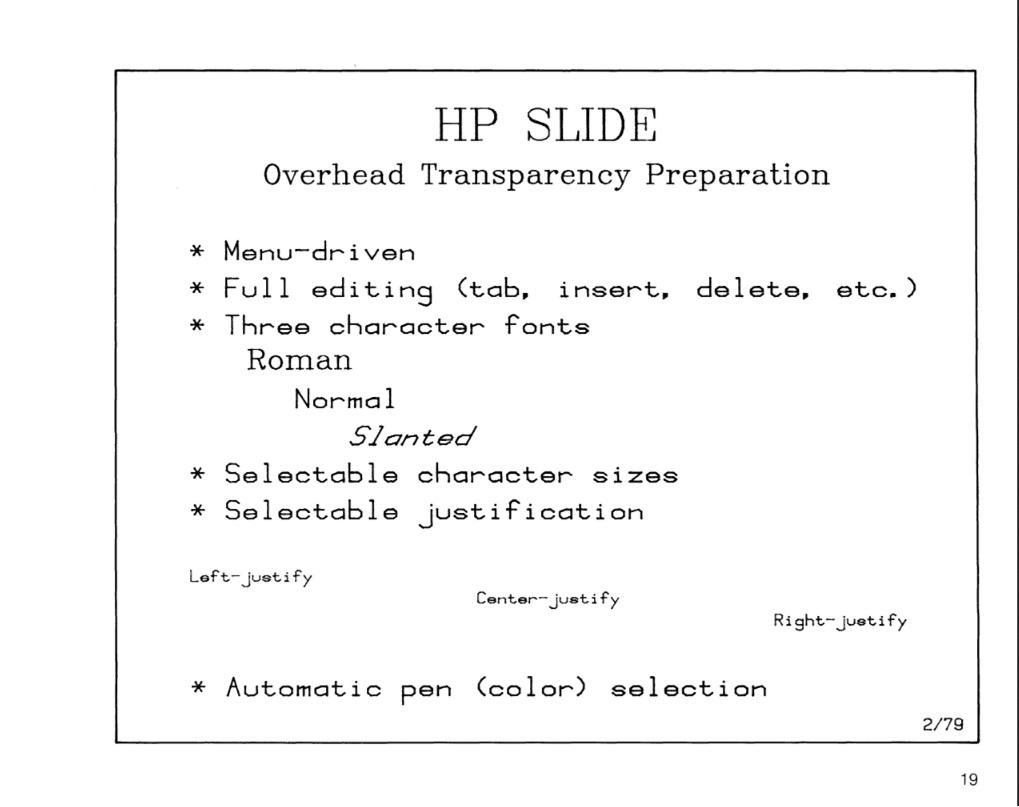 HPSlideOutput